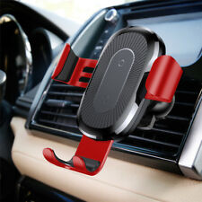 Baseus Gravity Qi Wireless Car Charger Vent Fast Charging Charge Holder Stand