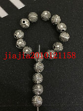 P401 20pc Retro Tibetan Silver Spacer Beads Jewelry Accessories wholesale