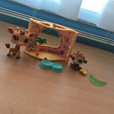 Littlest Pet Shop - Giraffee and Monkey + Play Set