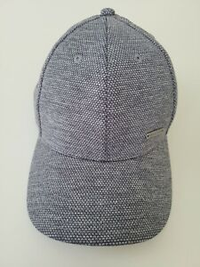 Sean John Mens One Size Gray Adjustable Baseball Cap