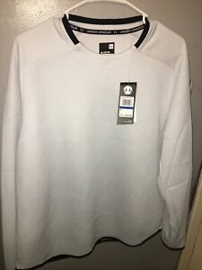 Under Armour Mens Size XL Long Sleeve Gray Shirt