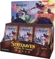Magic The Gathering Strixhaven Set Booster Box | 30 Packs (360 Magic Cards)