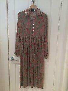 Trelise Cooper Silk Blend Long Dress Size M