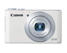 New Canon PowerShot Power shot S110 12.1MP Point & Shoot Digital Camera *White