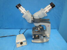 American Optical /Spencer Microscope with assist. scope Head and 4qty Objectives