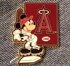 Los Angeles Angels Lapel Pin~MLB~2006~Mickey Mouse~Disney~WDW~Anaheim~CA