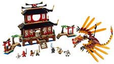 Lego Ninjago The Golden Weapons Set 2507 Fire Temple 2011 Complete Bricks.