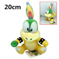 "Lemmy Koopa Super Mario Bros Plush Toy Hip Ball Koopalings Baby Boswer 8"""