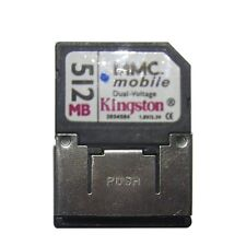 10 x Kingston MMC DV 512mb RS MMC 512 MB RS-MMC Card 13pins