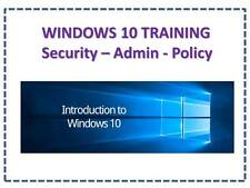 GENUINE WINDOWS 10 PRO 32 / 64BIT SOFTWARE TRAINING SESSIONS VIDEOS