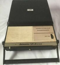 Delmonico Nivico Transistorized Phonograph Player RARE Model TPH-27  Records