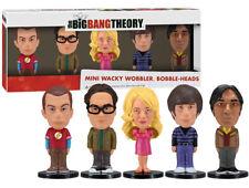the Big Bang theory mini wacky wobbler bobble-heads