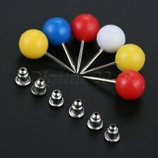 1Set(50Pcs) Plastic+Stainless Steel Patchwork Pin Pearl Head Pins Sewing Tools