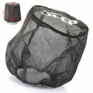 Black Mesh Dust Cover Protector For Car Air Intake Filter Dustproof Waterproof