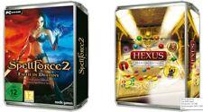 SPELLFORCE 2 FAITH IN DESTINY & HEXUS PREMIUM EDITION - 2 Top PC Spiele NEU