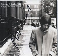RICHARD ASHCROFT - personally signed KEYS TO THE WORLD - CD cover