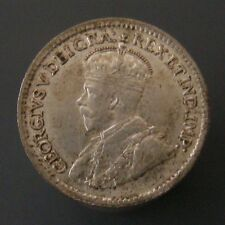 George V Five Cent Silver 1918