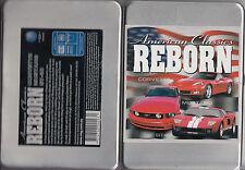American Classics Reborn-Corvette Mustang GT.40-[DVD in Metal Case]-Car-DVD