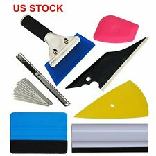 Us Car Window Tint Tools Kit Scraper Squeegee For Auto Film Tinting Installation Fits Plymouth Breeze