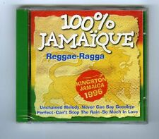 CD (NEW) 100% JAMAIQUE (VARIOUS)