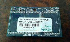 APACER 1GB IDE Solid State Flash Drive AP-FM1024A10C5G P/No. 81.4E016.5200B