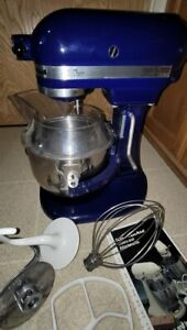 KitchenAid K5SS 5 Quart Bowl-Lift Stand Mixer Blue Kitchen Aid
