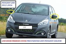 PEUGEOT 208 12- 16 Wing Mirror Cover RIGHT Sprayed ANY PEUGEOT COLOUR