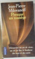 Presque un manège (French) Mass Market Paperback