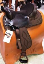 "Big Horn 16"" Brown Synthetic Trail All Around Lightweight Saddle Model A00269 ~"