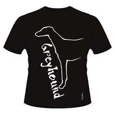 Greyhound Dog Breed T-Shirts, Round-Neck Style Dogeria Design Men's & Women's