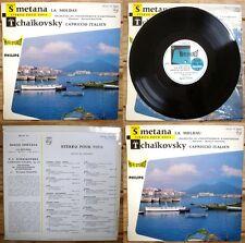 CLASSIQUE – SMETANA La Moldau – TCHAIKOVSKY Capriccio Italien - LP 25cm (10'')