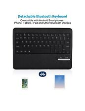 iPad Keyboard Case, Poweradd Bluetooth iPad Keyboard Folio Smart Case with Auto