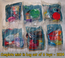 LILO & STITCH: The Series toys (complete set of 6) McD/Disney TV (2004) *NIOP