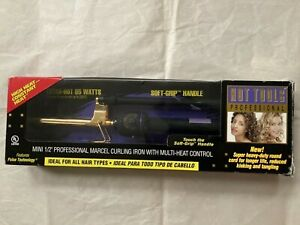 *Brand New* Hot Tools Gold Series Professional Spring Curling Iron 1/2 Inch