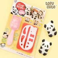 Tofu Cute Kawaii Adorable Panda Shape DIY Sushi Rice Ball Mold for Bento Box