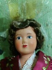 Vintage 10 pulgadas Muñeca Francés Antiguo Celuloide Petite Colin