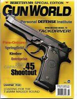 Gun World Magazine February 1999 Winchester Model 70 Tackdriver, Beretta M9