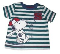 Baby Boys Tops T-Shirt Or Long Sleeved Top Official Snoopy