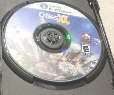 Cities XL (PC, 2009)(GAME DISC ONLY)