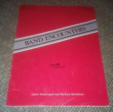 Band Encounters Trombone instruction book 1 Sheet Music Instruction Lesson bm138