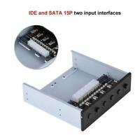 HDD Netzschalter Festplatten Schalter SATA IDE 15P Drive Switcher Für Computer P