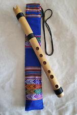 Professionelle peruanische Quena Flöte, NEU mit Hülle