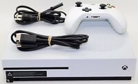Microsoft Xbox One S 500GB White Console Model 1681 Excellent Condition N/R.
