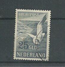 Nederland  LP13 Luchtpost 25Gld  VFU/gebr  CV 125 €  PRACHT !!