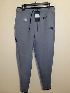 Nike NFL New England Patriots On Field Sweat Pants Men's Medium $110 AO5429-021