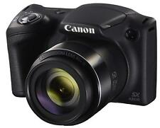 Canon PowerShot SX430 IS Black Digital Camera 20MP 45x Wi-Fi CMOS PSSX430IS NIB
