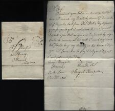 1815 BERWICK Posted letter Margaret Thompson of Easter Lane to ALNWICK