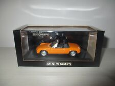 PORSCHE 914 1969-73 ORANGE 430 065661 MINICHAMPS SCALA 1:43