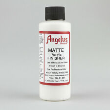 Angelus Acrylic Leather Paint Matte Finisher 4oz Bottle
