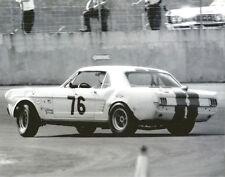 Vintage 8 X 10 Auto Racing Photo 1967 Daytona Ford Mustang No. 76